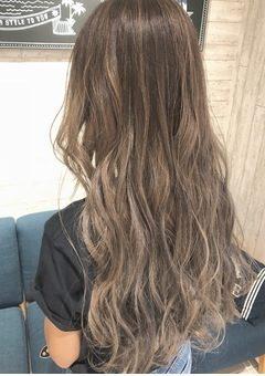 かきあげ前髪 立体的カラー 03