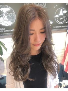 かきあげ前髪 立体的カラー 01